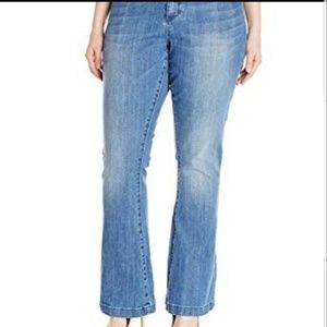 Kut From The Kloth Chrissy Flare Jeans sz 22Wx30